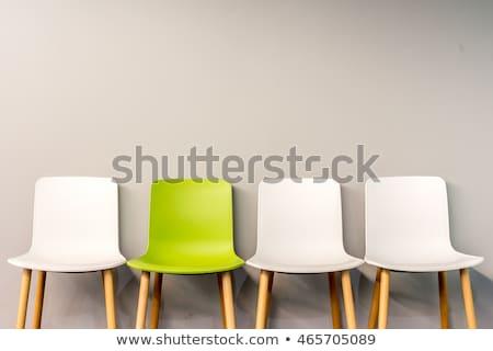 green chair Stock photo © shutswis