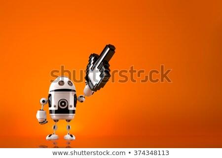 Пиксели · искусственный · интеллект · микроскопический · небольшой · построить - Сток-фото © kirill_m