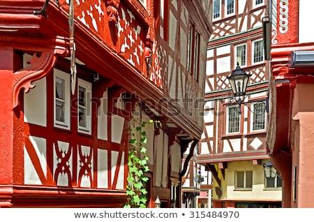 Traben-Trarbach village Stock photo © Steffus