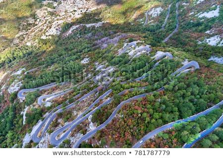 道路 モンテネグロ 古い 山 修道院 自然 ストックフォト © Steffus
