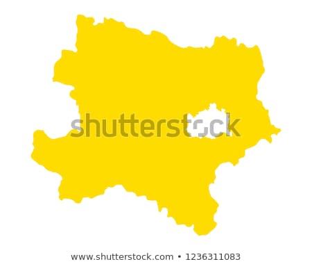 Karte senken Österreich Vektor isoliert Stock foto © rbiedermann