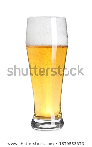 Wheat beer on a white background Stock photo © Zerbor