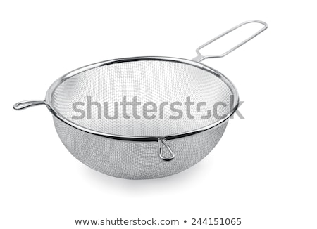 kitchen strainer isolated Stock photo © dcwcreations