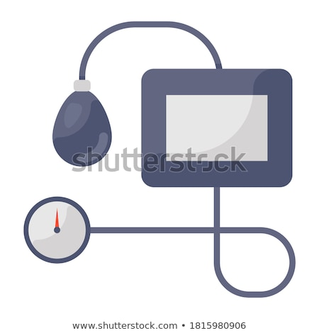 sphygmomanometer - bp cuff Stock photo © lovleah