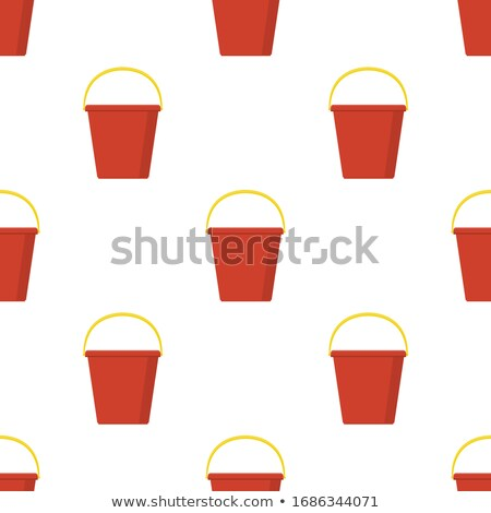 A red pail Stock photo © bluering