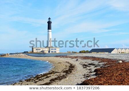 Gözlem kule sahil etrafında Bina anten Stok fotoğraf © prill