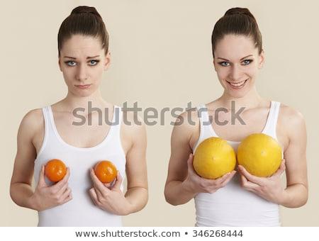 Breast Enlargement Woman Stock photo © Kakigori