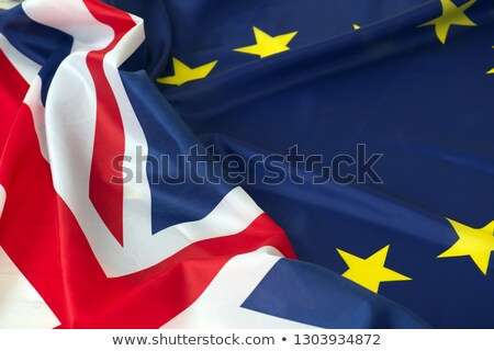 uk and eu flags concept stock photo © sarts