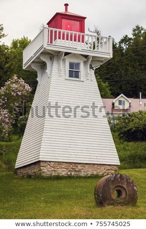 灯台 島 オンタリオ カナダ 光 ストックフォト © benkrut