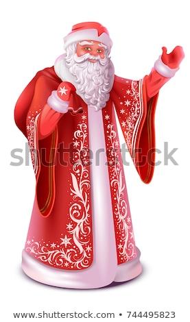 russisch · kerstman · Rusland · vader · vorst - stockfoto © orensila