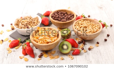 selection of cereal breakfast Stock photo © M-studio