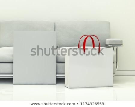 Groep papier interieur 3D Stockfoto © user_11870380