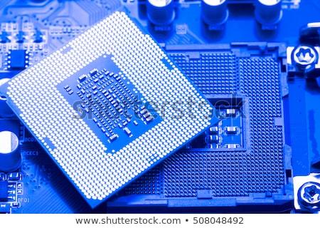 Spare parts of motherboard Stock photo © wavebreak_media