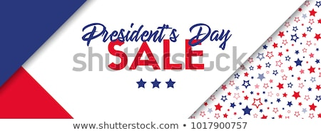 Stock photo: Happy USA Independence Day sale banner cover vector template design
