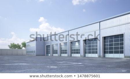 hangar building  Stock photo © vichie81