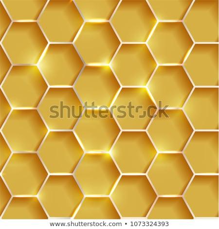 Metal dimensional hexagonal 3D Stock photo © djmilic
