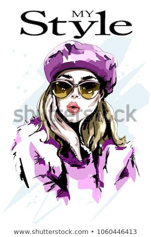 moda · sarışın · güzellik · seksi · kadın · iç · çamaşırı - stok fotoğraf © acidgrey