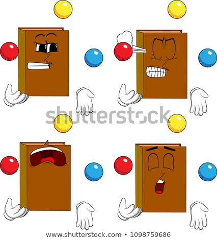 Cartoon Joke Book Bored Stock photo © cthoman