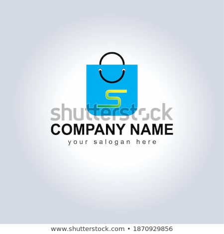 Icon shop online. Arrow symbol large online store. stock photo © AisberG