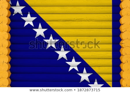 дома флаг Барбадос белый домах Сток-фото © MikhailMishchenko