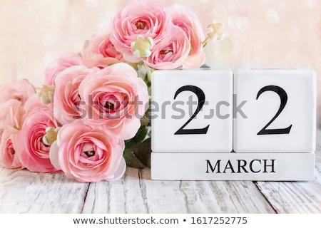 madres · día · calendario · flores · azalea · flor - foto stock © furmanphoto