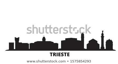 city of trieste waterfront view stock photo © xbrchx