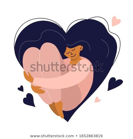 Stockfoto: Liefde · zorg · jonge · verliefd · echtgenoot · vrouw