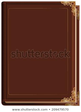 古本 歴史 実例 巨大な 図書 ストックフォト © lenm