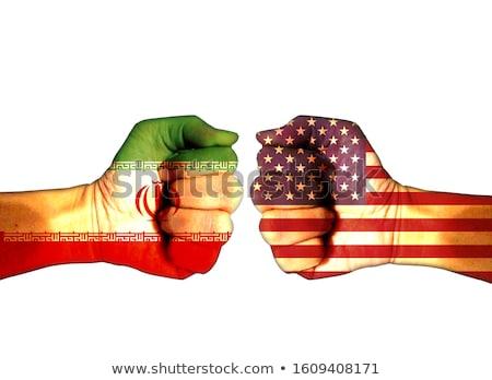 Iran USA conflict Verenigde Staten midden oosten crisis Stockfoto © Lightsource