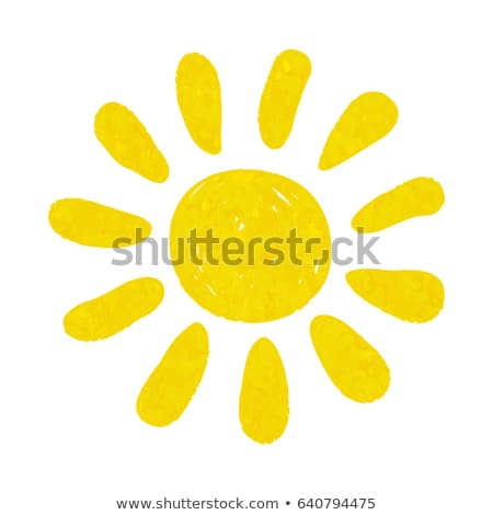 Summer Holidays Icons Closeup Vector Illustration Stock photo © robuart