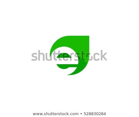 initial letter e circle color logo  Stock photo © krustovin