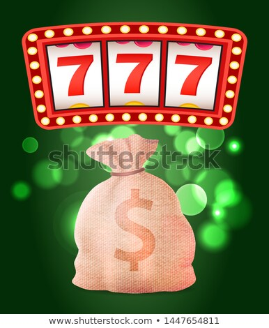 Kaszinó klub rés gyümölcs gép pénz Stock fotó © robuart