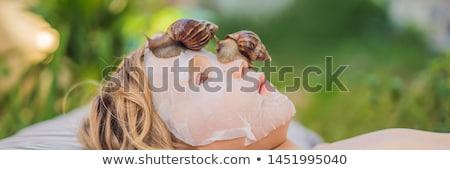 detoxikáló · spa · kezelés · tengeri · só · rózsaszín · rózsa · virág · szappan - stock fotó © galitskaya