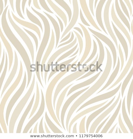 beige abstract art background silk texture and wave lines in mo stock photo © anneleven