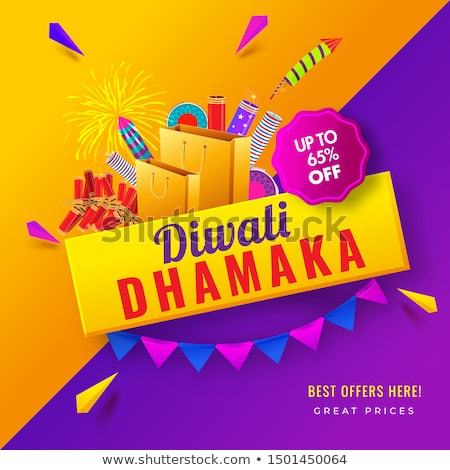 indian diwali celebration sale and offers background Stock photo © SArts