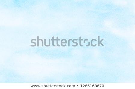 Wolken frame creatieve blauwe hemel Blauw hemel Stockfoto © artjazz