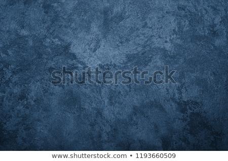 Blauw beton textuur grunge verf achtergrond Stockfoto © hamik