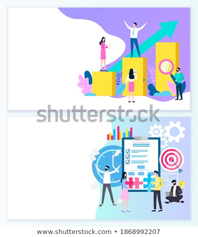 Successful Mission and Implementing Business Web Stock photo © robuart