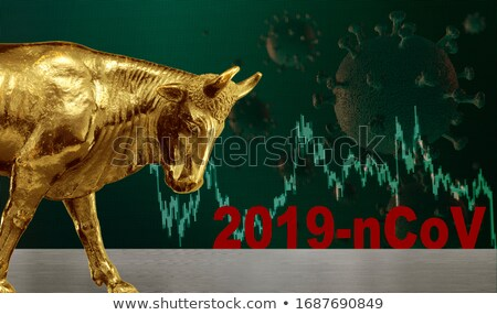 Bull Market Pandemic Risk Stock photo © Lightsource