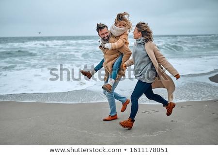 Beach  in winter stock photo © fotografci