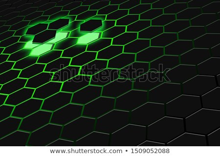 Darck 3d futuristic abstraction background stock photo © FransysMaslo