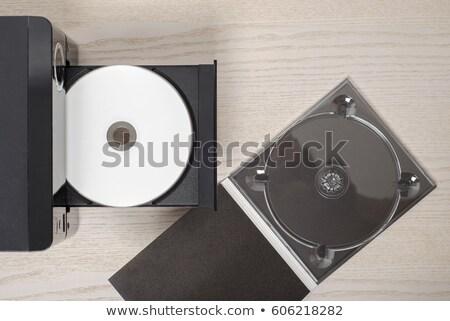 Kompakt audio közelkép cd diszkó hang Stock fotó © jamdesign