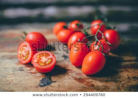 Cherry Tomatoes Close up Stock photo © saje