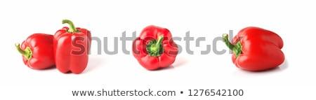 Dos Pimentones rojos Stock photo © Nelson
