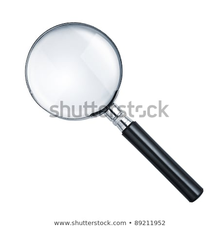 Magnifying glass isolated on white Stock photo © shutswis
