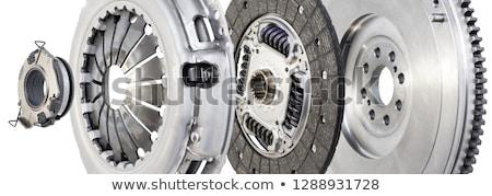 автомобильный сцепления новых дисков белый автомобилей Сток-фото © RuslanOmega