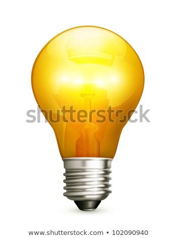 Light bulb, bitmap copy Stock photo © shutswis