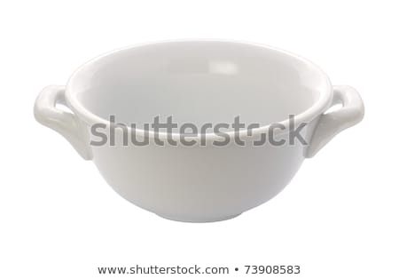 Soup Crock Bowl isolated Stock photo © danny_smythe