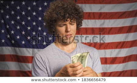 zakenman · bank · merkt · witte · business · hand - stockfoto © wavebreak_media