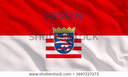 Flag of Hesse Stock photo © Ustofre9
